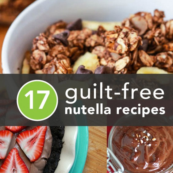 Healthier Ways to Enjoy Nutella