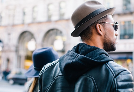 Young Man Traveling
