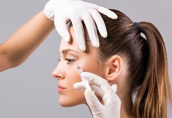 Young Woman Getting Botox
