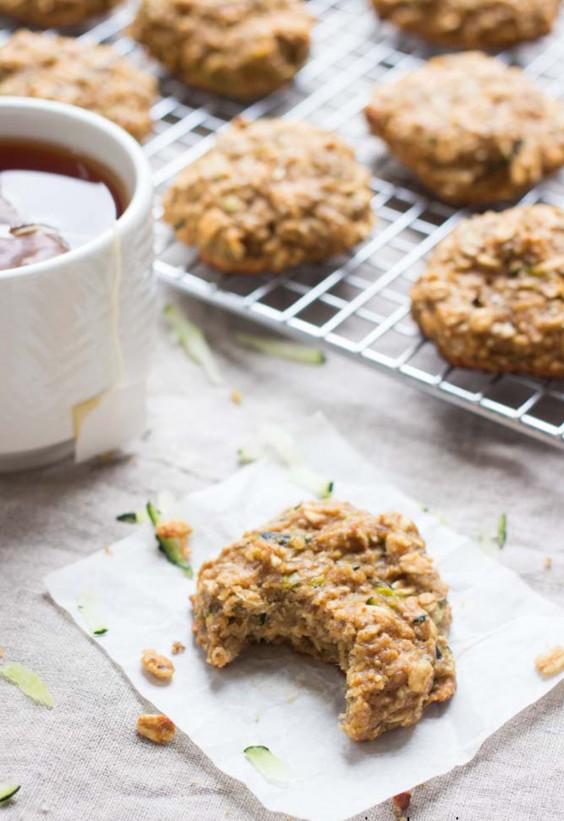 Veg Desserts: Zucchini Bread Breakfast Cookies