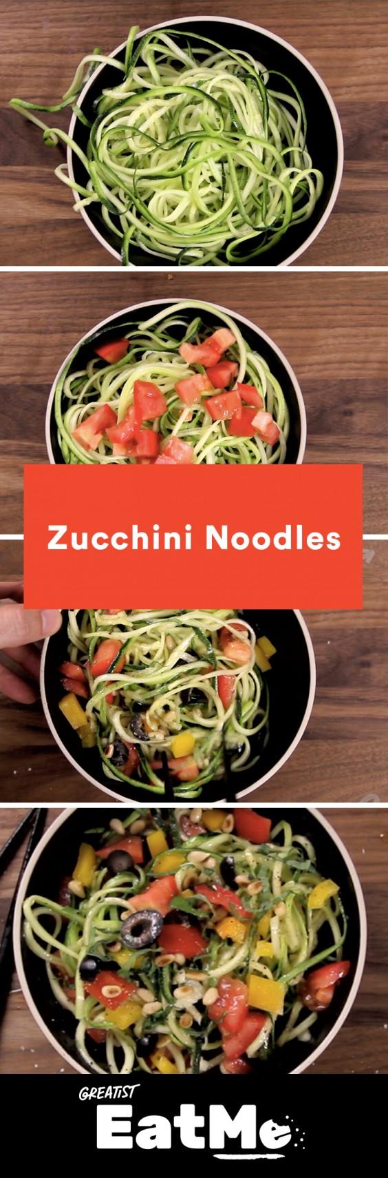 Eat Me Video: Zucchini Noodles
