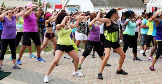 You've never experienced a Zumba party like this one!