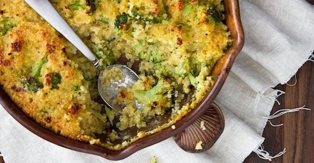 The greatist table 5 healthy casserole recipes greatist for Table 52 recipes
