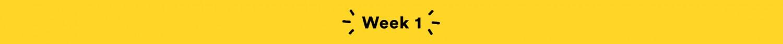 Week 1 - GreatistYou Recaps