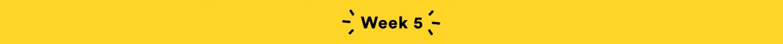 Week 5 - GreatistYou Recaps