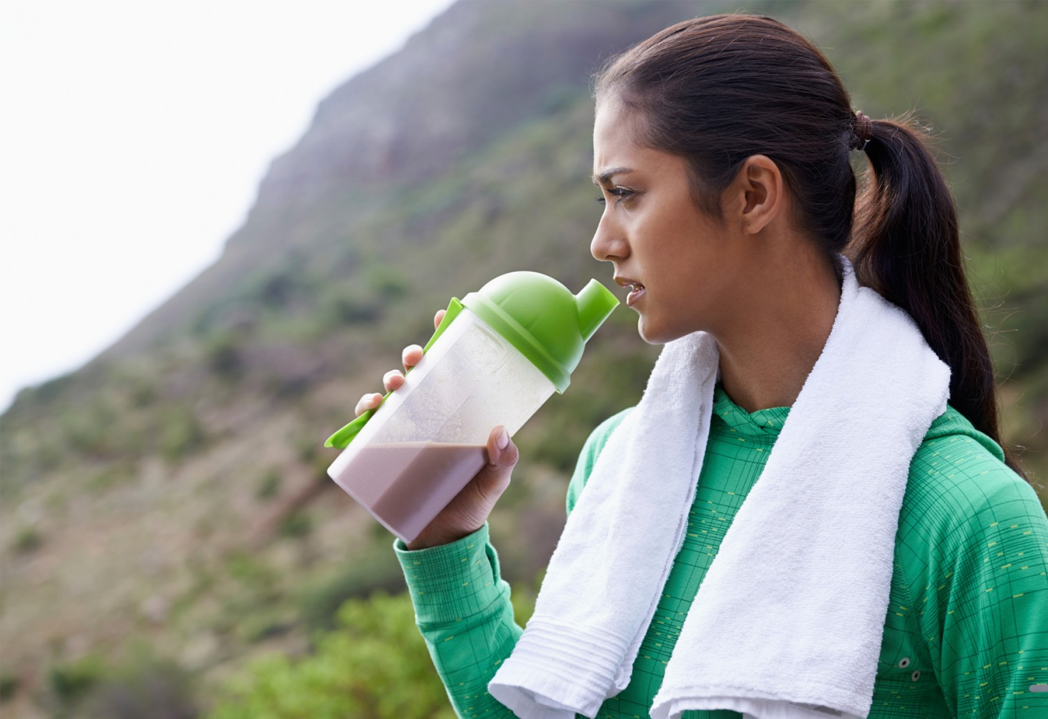 Barely Eating Or Drinking Water Woman