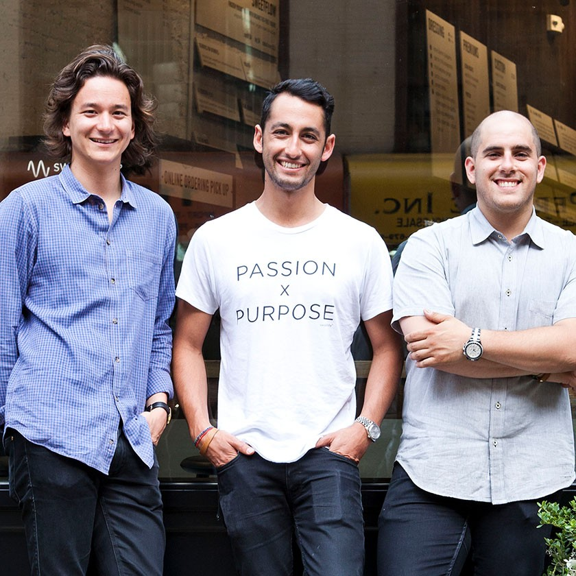 Jonathan Neman, Nicolas Jammet, and Nathaniel Ru