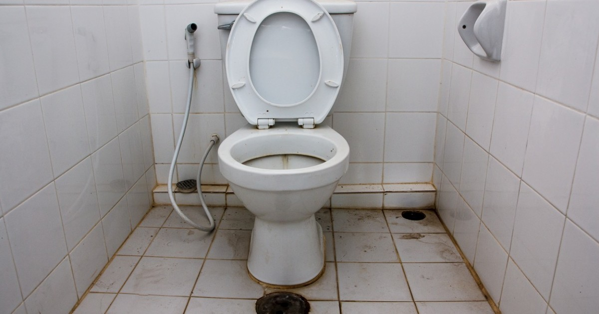 Image result for health dangers of using a public toilet