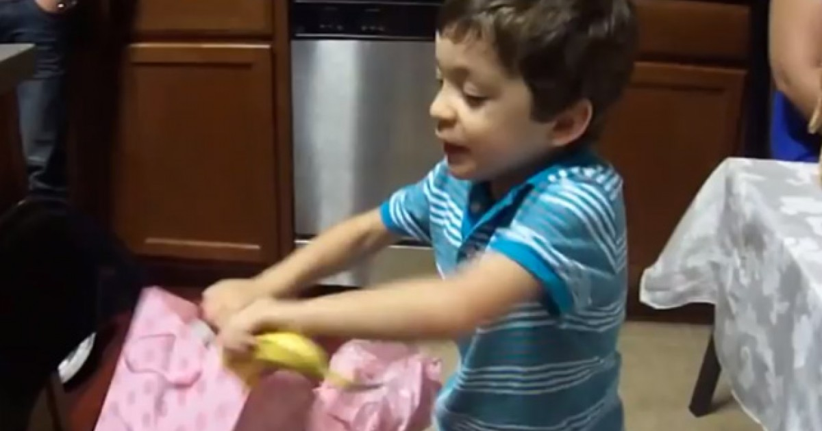 This Kid's Reaction to a Gift Is BANANAS (and Will Make ...