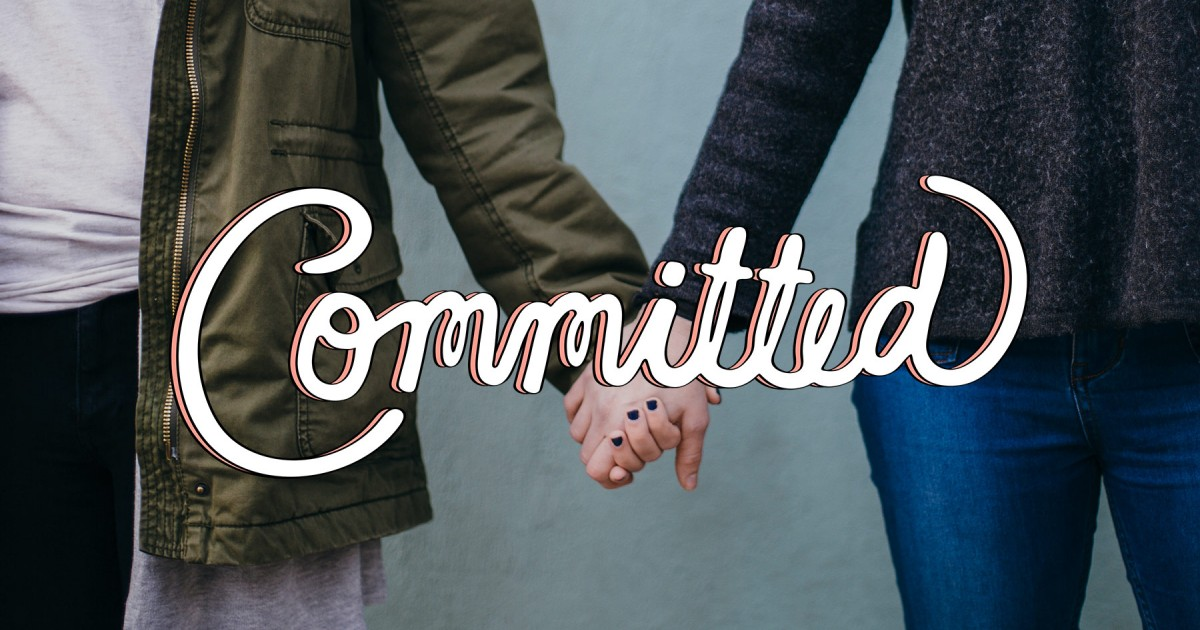 What does commitment in christian dating relationships look like