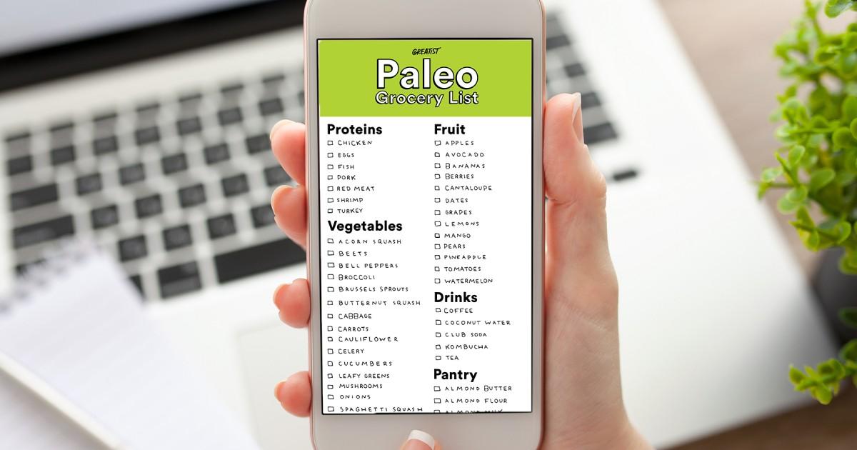 Paleo Shopping List for Beginners | Greatist