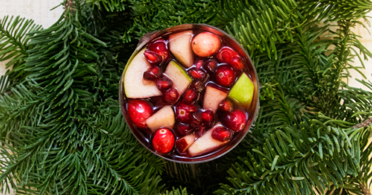 Image result for red christmas sangria