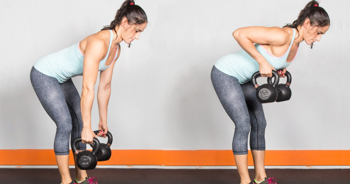 Kettlebell Workout: The 15-Minute Total-Body Kettlebell Workout images