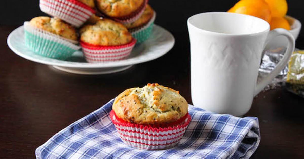 Lemon Chia Seed Muffins Greatist