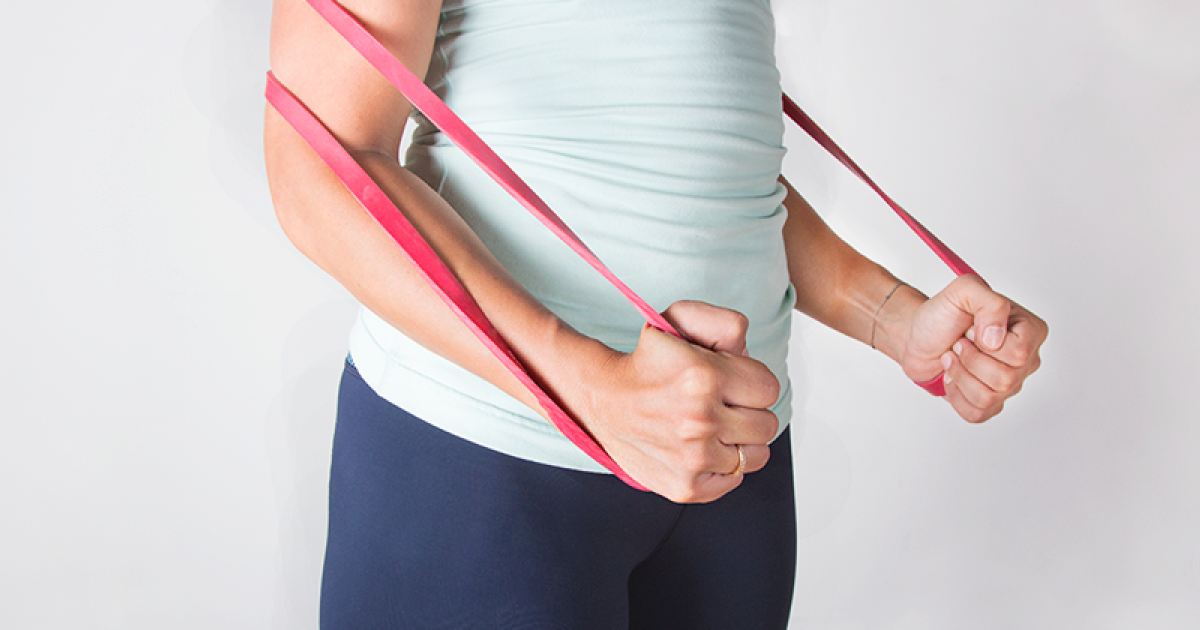 A Do Anywhere Full Body Resistance Band Workout Greatist