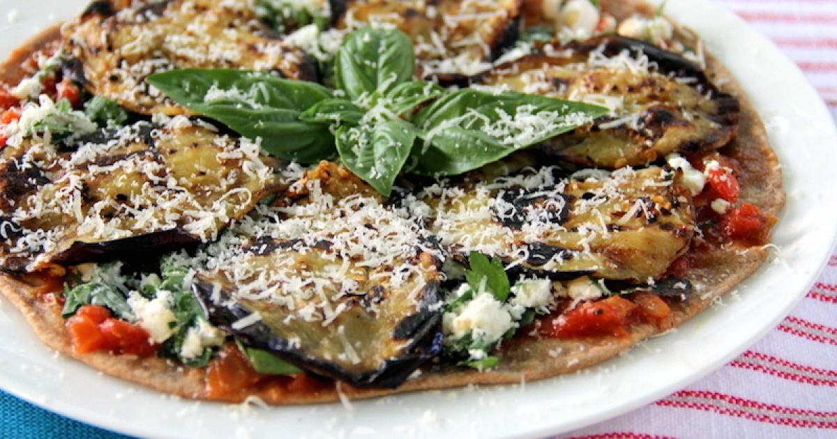 Eggplant Pizza: Veggie-Loaded Healthy Recipe