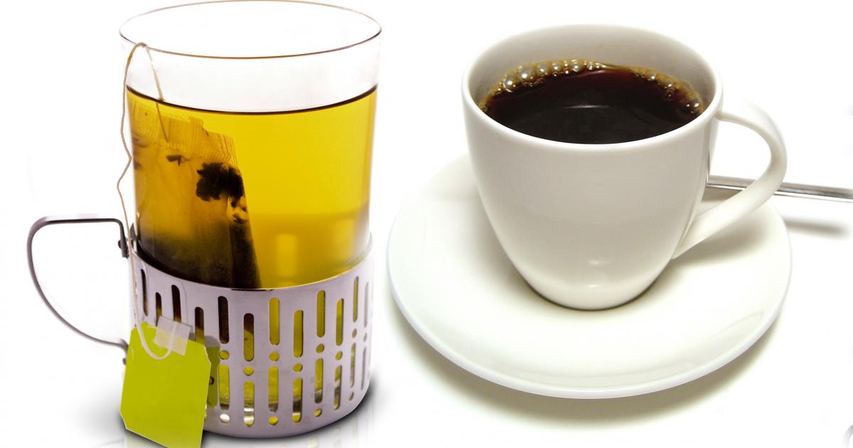Green Tea Vs Black Coffee The Greatist Debate Greatist