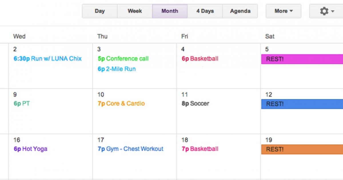 How To Make A Workout Plan And Stick It