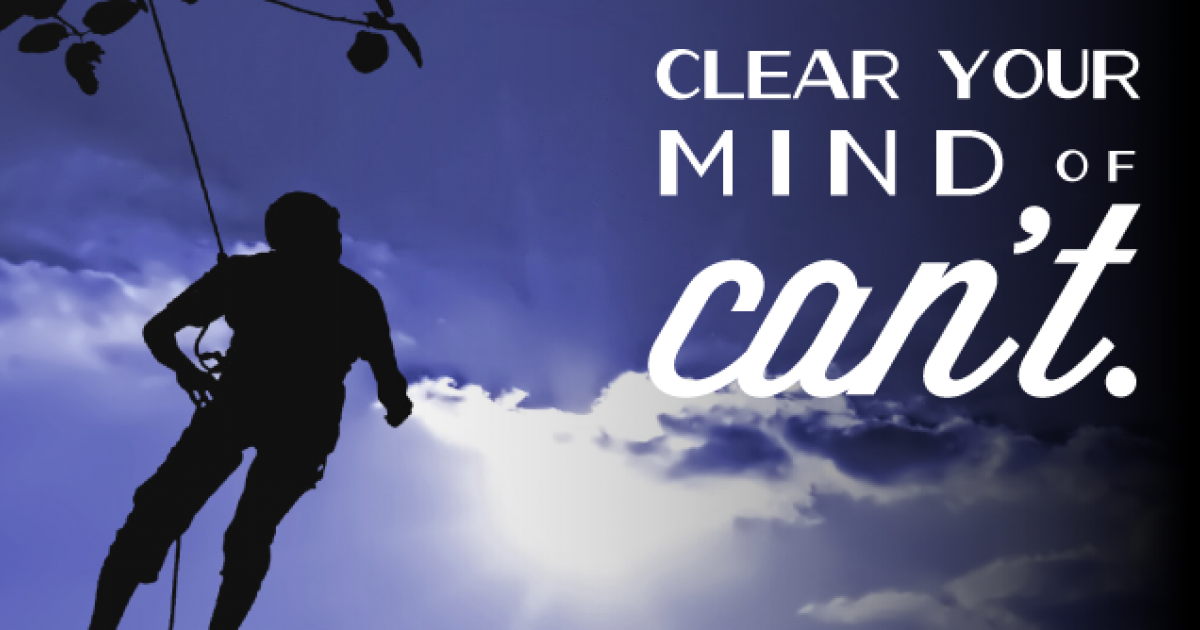 Poster: Clear Your Mind of Cant