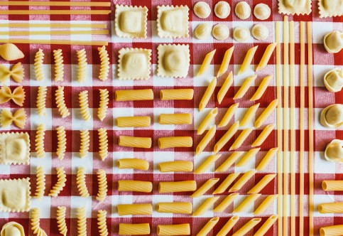 A Visual Guide That Identifies Every Pasta Shape Because That Sh*t Gets Confusing