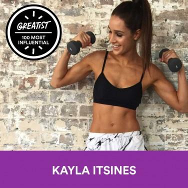 1. Kayla Itsines