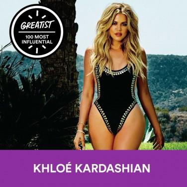 17. Khloé Kardashian