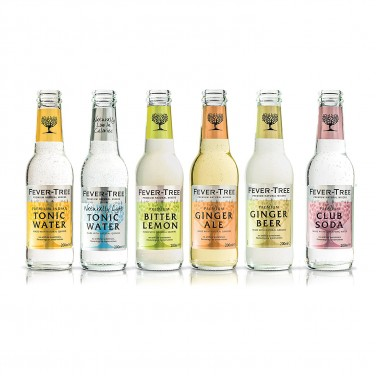 drinks: fever tree