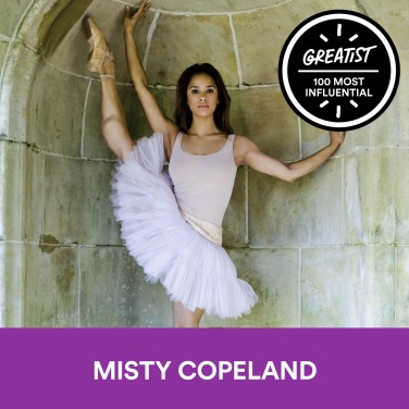 43. Misty Copeland