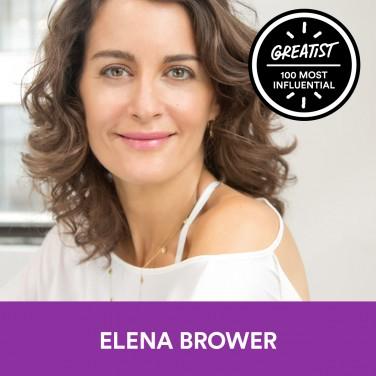 50. Elena Brower