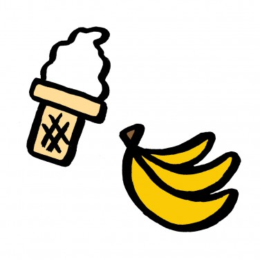Food Swaps: Banana Ice Cream