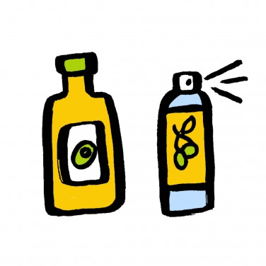 Food Swaps: Spray Olive Oil