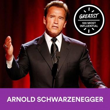 77. Arnold Schwarzenegger