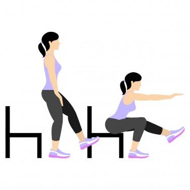 7 Min Workout: Pistol Squat Right