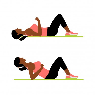 7-Minute Workout: Back Widow