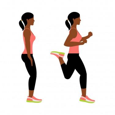 7-Minute Workout: Butt Kicker