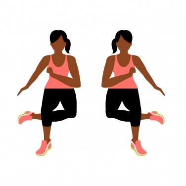 7-Minute Workout: Ice Skater