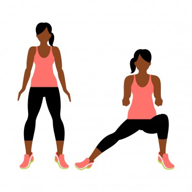 7-Minute Workout: Lateral Squat
