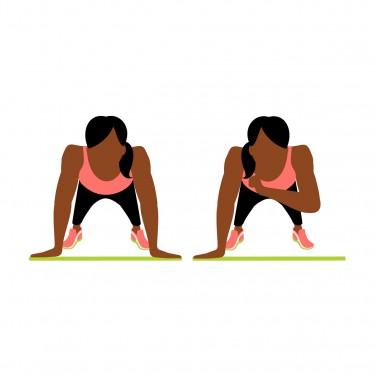 7-Minute Workout: Shoulder Tap