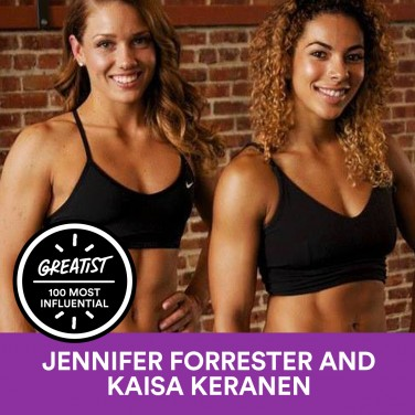 93. Jennifer Forrester and Kaisa Keranen