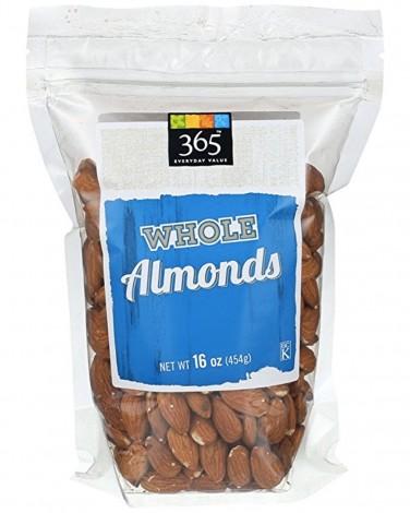 365 whole almonds