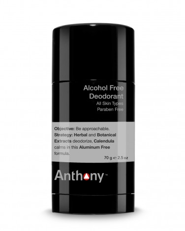 natural deodorant: anthony