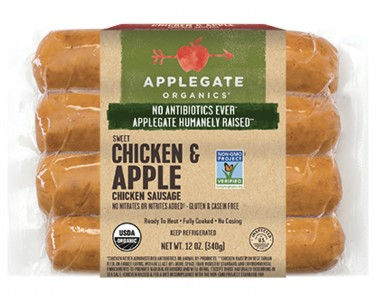 Applegate Chicken and Apple Sausage