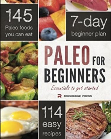 Paleo for Beginners cookbook