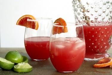 2. Blood Orange Margaritas