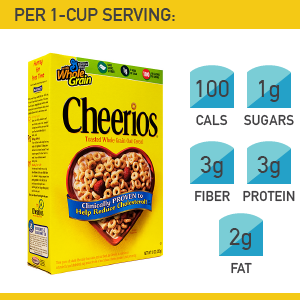 9. General Mills Cheerios