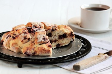 4. Chocolate Cherry Bread