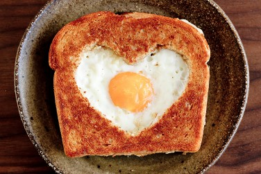 1. Valentine's Day Egg in the Basket