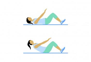 7 Minute Workout: Crunch