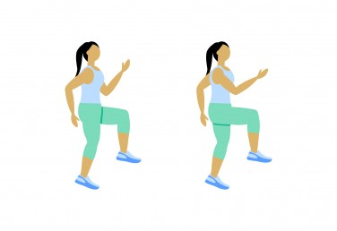 7 Minute Workout: High Knees