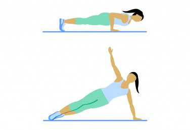7 Minute Workout: Push-Up With Rotation